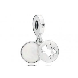 Pandora Hangbedel zilver Perfect Pals 797035EN23