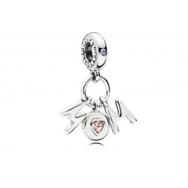 Pandora Hangbedel zilver Perfect Mom 797059NSP