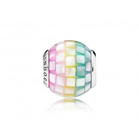 Pandora Bedel zilver Multi-colour Mosaic 797183MPR