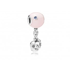 Pandora Hangbedel zilver Elephant and Pink Balloon 797239EN160