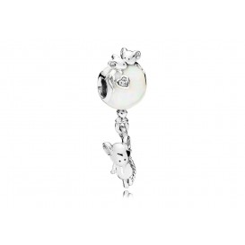 Pandora Hangbedel zilver Mouse and Balloon 797240EN23