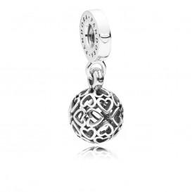 Pandora Hangbedel zilver Harmounious Hearts 797255