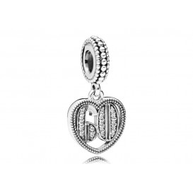 Pandora Hangbedel zilver 60 Years of Love 797265CZ