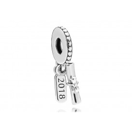Pandora Hangbedel zilver Graduation Scroll 797396