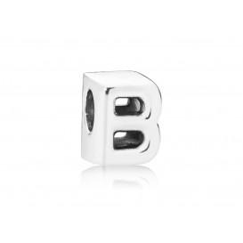 Pandora Bedel zilver Letter B 797456