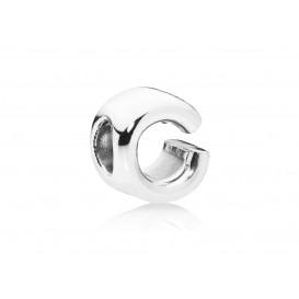 Pandora Bedel zilver Letter C 797457