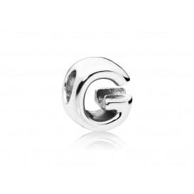 Pandora Bedel zilver Letter G 797461