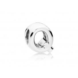 Pandora Bedel zilver Letter Q 797471