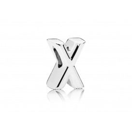 Pandora Bedel zilver Letter X 797478