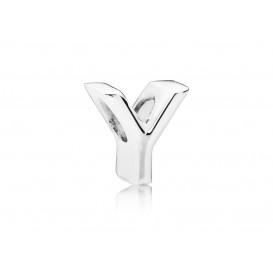 Pandora Bedel zilver Letter Y 797479