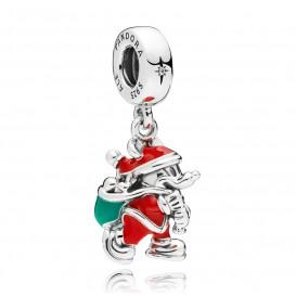 Pandora 797501ENMX Disney Hangbedel zilver Santa Mickey