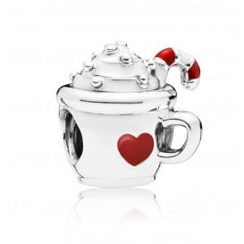 Pandora 797523ENMX Bedel zilver Cocoa Mug