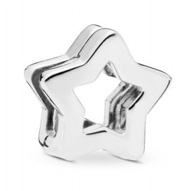 Pandora Reflexions 797544 Bedel/Clip zilver Sleak Star