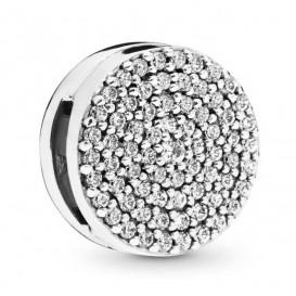 Pandora Reflexions 797583CZ Bedel/Clip zilver Dazzling Elegance