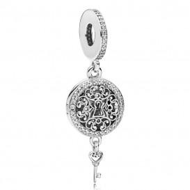 Pandora Hangbedel 797660CZ zilver Regal Love Key