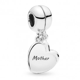 Pandora 797777EN16 Hangbedel zilver Mother and Son Love-2