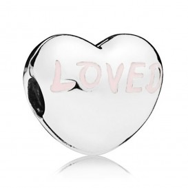 Pandora 797807EN124 Clip-Stopper Bedel zilver Loved Heart