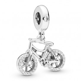 Pandora 797858CZ Hangbedel zilver Brilliant Bicycle
