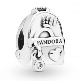 Pandora 797859CZ Bedel zilver Adventure Bag
