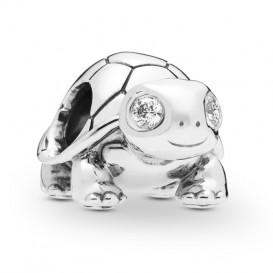 Pandora 797878CZ Bedel zilver Bright-Eyed Turtle