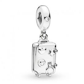 Pandora 797887EN160 Hangbedel zilver Suitcase