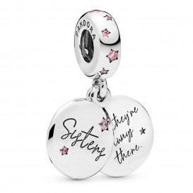 Pandora 798012FCP Hangbedel zilver Forever Sisters