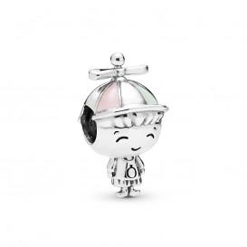 Pandora 798015ENMX Bedel zilver Hat Boy