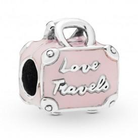 Pandora 798063EN124 Bedel zilver Pink Travel Bag