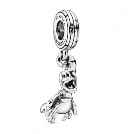 Pandora 798229 Hangbedel zilver Disney The Little Mermaid Sebastian