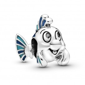 Pandora 798230ENMX Disney Bedel zilver The Little Mermaid Flounder