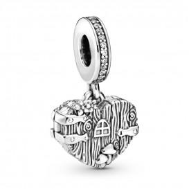 Pandora 798284CZ Hangbedel zilver Home Sweet Heart
