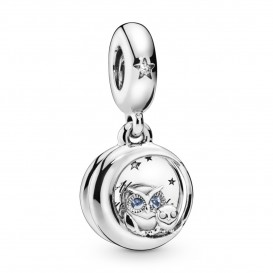Pandora 798398NBCB Hangbedel Always by Your Side Owl zilver