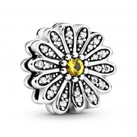 Pandora Reflexions 798766C01 Bedel/Clip zilver Sparkling Daisy Flower