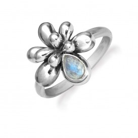 Rabinovich 59203021 Ring zilver met maansteen