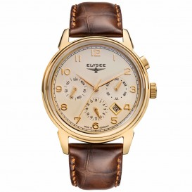 Elysee Vintage Calendar 80557 Heren Horloge EL.80557 Herenhorloge 1