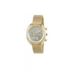Breil Dameshorloge Beaubourg chronograaf Goudkleurig TW1676
