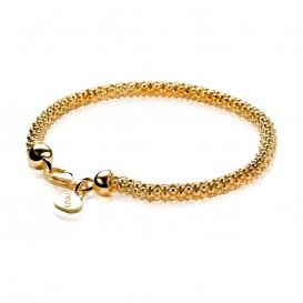Zinzi ZIA1057G Geelvergulde zilveren armband