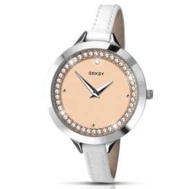 Sekonda Horloge 2155.37 Dames Zilver Strass SEK.2155 Dameshorloge 1