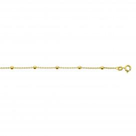 Glow Gouden Schakelarmband - 18.5cm Anker Balletjes  204.2047.18