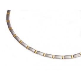 Boccia 0845-02 Ketting Titanium bicolor