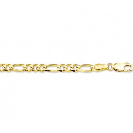 Armband Goud Figaro 3,7 mm 18 cm