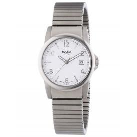 Boccia Horloge Titanium rekband 30 mm 3080-06