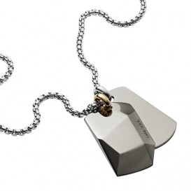 Diesel DX1143040 Double Dogtags Herencollier