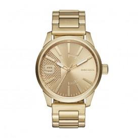 Diesel Horloge Rasp staal goudkleurig DZ1761