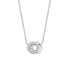 TI SENTO - Milano 3915ZI zilveren collier met hanger 42 cm