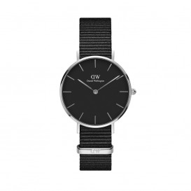 Daniel Wellington DW00100216 Classic Petite Cornwall Black silver Dames horloge