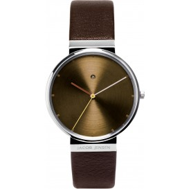 "Watch 843 Stainless Steel Sapphire Jacob Jensen ""dimension"". Horloge"
