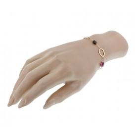 TFT Armband Goud Toermalijn 1,4 mm 18 - 19 cm