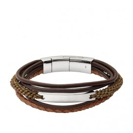 Fossil JF02703040 Vintage Casual Herenarmband