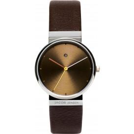 "Watch 853 Stainless Steel Sapphire Jacob Jensen ""dimension"". Horloge"